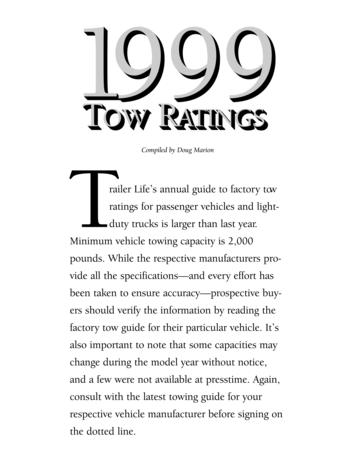 1999 Trailer Life Towing Guide