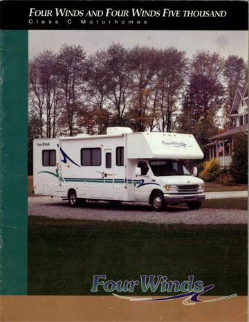 2000 Thor Four Winds 5000 Brochure