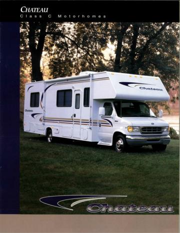 2000 Thor Four Winds Chateau And Sport Brochure
