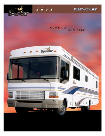 2001 Fleetwood Bounder Brochure