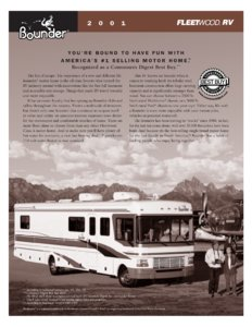 2001 Fleetwood Bounder Brochure page 3