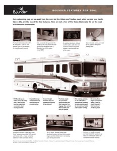 2001 Fleetwood Bounder Brochure page 4