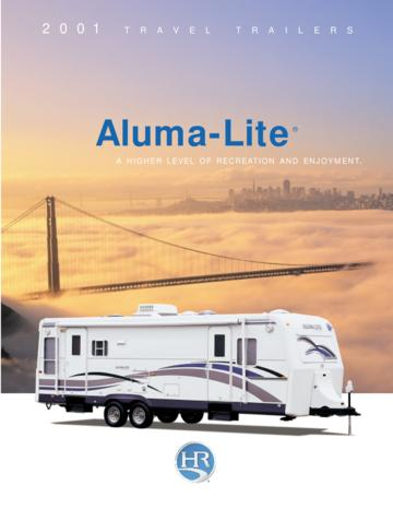 2001 Holiday Rambler Aluma Lite Brochure