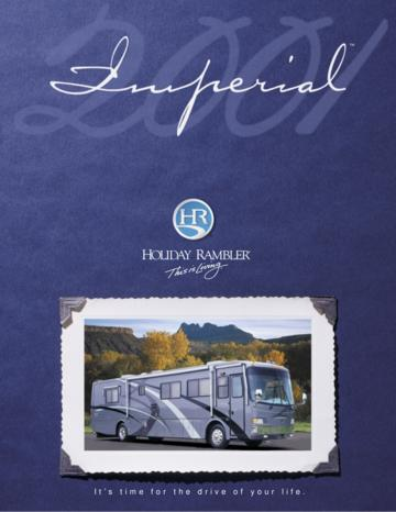 2001 Holiday Rambler Imperial Brochure