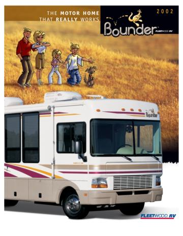2002 Fleetwood Bounder Brochure