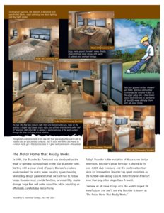 2002 Fleetwood Bounder Brochure page 2