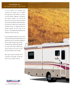 2002 Fleetwood Bounder Brochure page 4