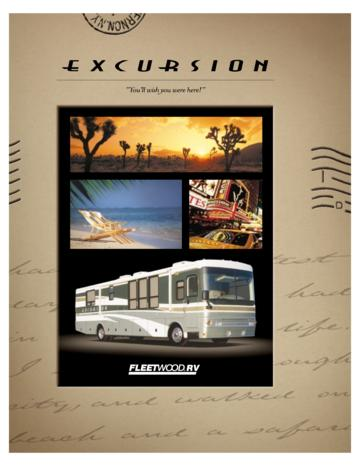 2002 Fleetwood Excursion Brochure