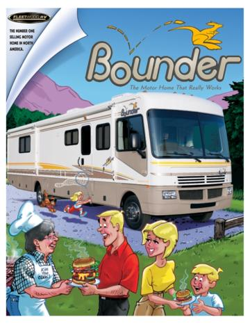 2003 Fleetwood Bounder Brochure