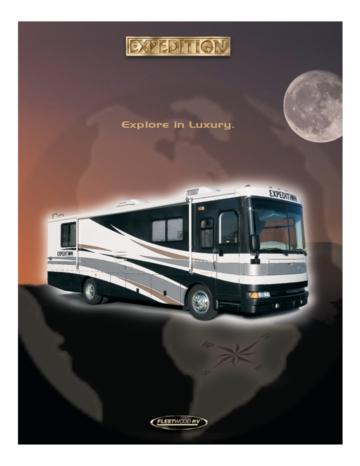 2003 Fleetwood Expedition Brochure