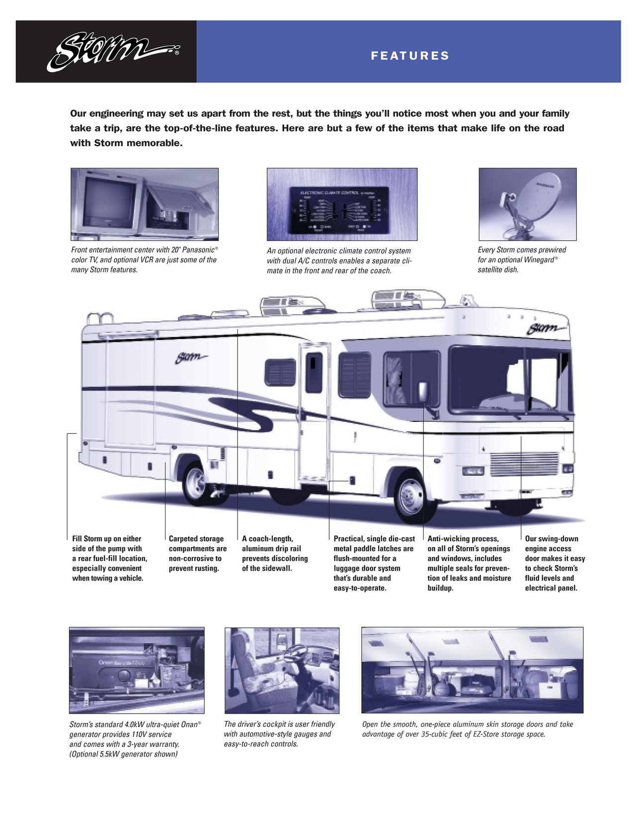 1988 Pace Arrow Electrical Diagram Trusted Wiring 2000 Fleetwood Storm Motorhome 1987 Eleganza Wire