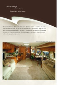 2003 Holiday Rambler Endeavor Brochure page 2
