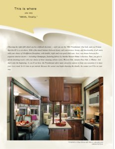 2003 Holiday Rambler Presidential Brochure page 2