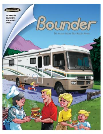 2004 Fleetwood Bounder Brochure