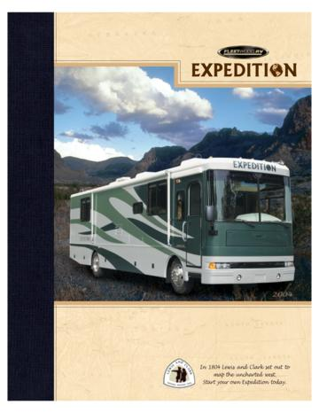 2004 Fleetwood Expedition Brochure
