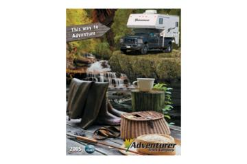 2005 ALP Adventurer Truck Campers Brochure