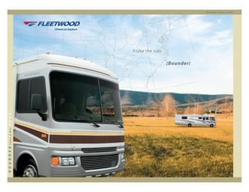 2005 Fleetwood Bounder Brochure