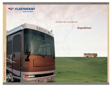 2005 Fleetwood Expedition Brochure