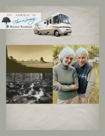 2005 Holiday Rambler Admiral SE Brochure