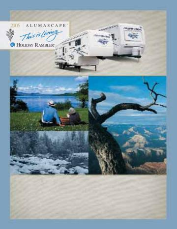 2005 Holiday Rambler Alumascape Brochure