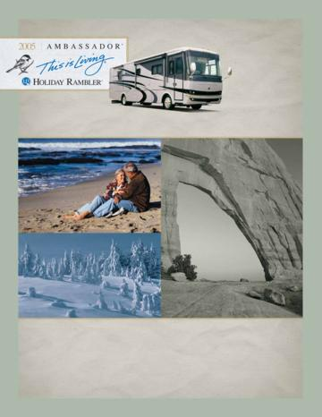 2005 Holiday Rambler Ambassador Brochure