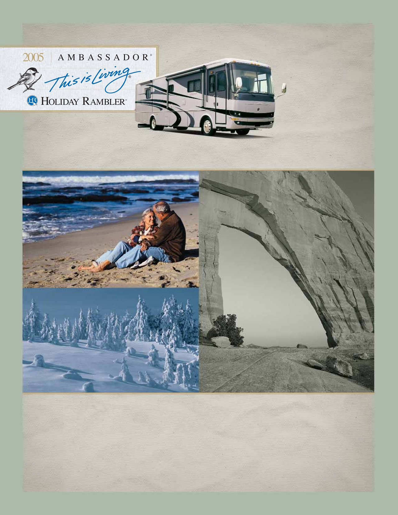 2005 Holiday Rambler Ambassador Brochure Rv Brochures Download Wiring Diagram
