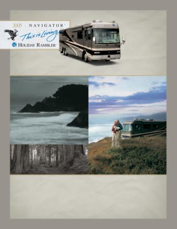 2005 Holiday Rambler Navigator Brochure