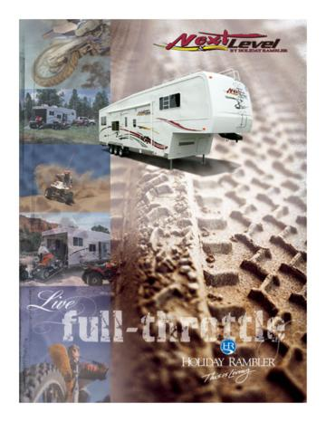 2005 Holiday Rambler Next Level Brochure