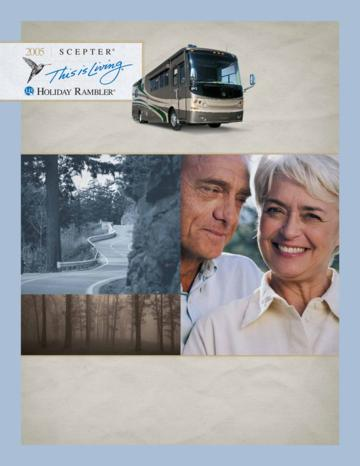2005 Holiday Rambler Scepter Brochure