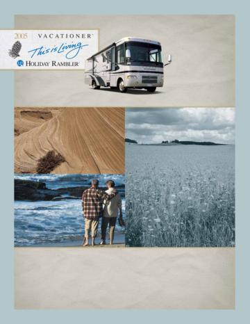 2005 Holiday Rambler Vacationer Brochure