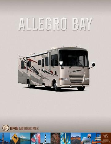 2005 Tiffin Allegro Bay Brochure