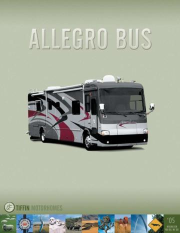 2005 Tiffin Allegro Bus Brochure