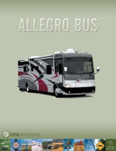 2005 Tiffin Allegro Bus Brochure page 1