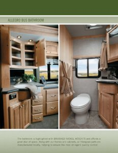 2005 Tiffin Allegro Bus Brochure page 10