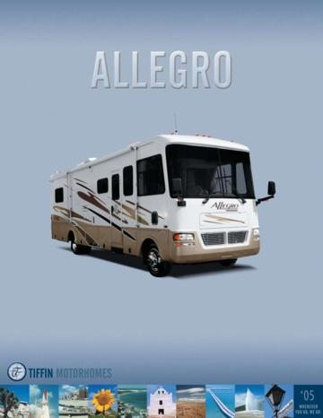 2005 Tiffin Allegro Brochure
