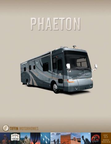 2005 Tiffin Phaeton Brochure