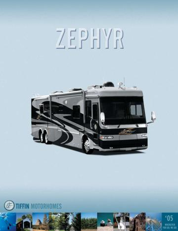 2005 Tiffin Zephyr Brochure