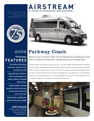 2006 Airstream Parkway Coach Brochure
