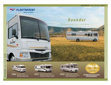 2006 Fleetwood Bounder Brochure