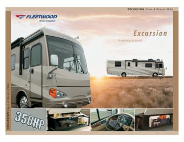 2006 Fleetwood Excursion Brochure