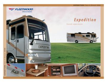 2006 Fleetwood Expedition Brochure