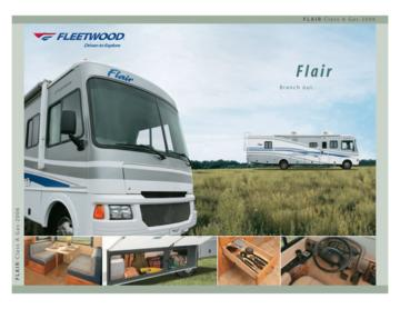 2006 Fleetwood Flair Brochure