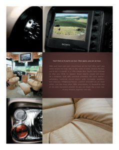 2006 Tiffin Allegro Bus Brochure page 1