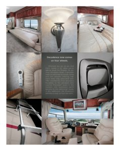 2006 Tiffin Phaeton Brochure page 1
