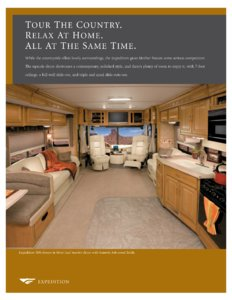 2007 Fleetwood Expedition Brochure page 2