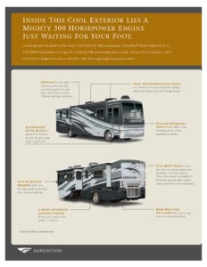 2007 Fleetwood Expedition Brochure page 8