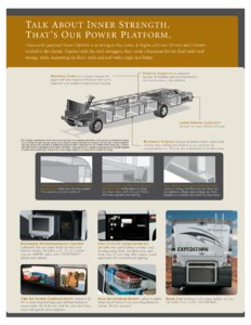 2007 Fleetwood Expedition Brochure page 9