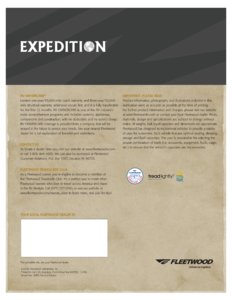 2007 Fleetwood Expedition Brochure page 16