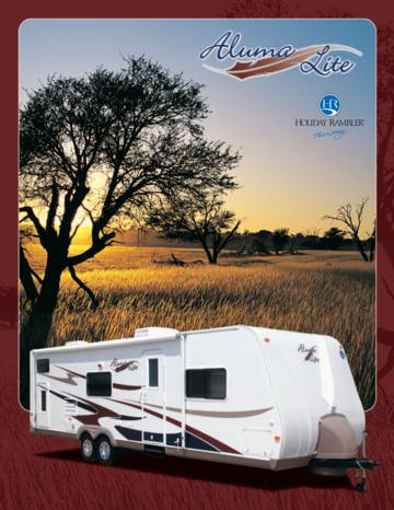 2007 Holiday Rambler Aluma Lite Brochure