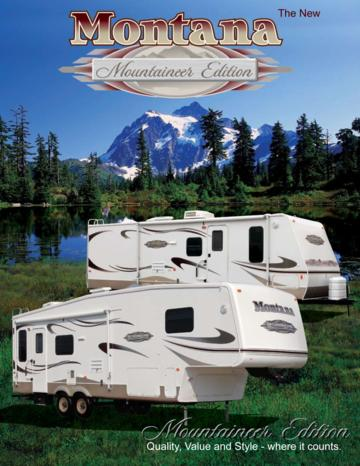2007 Keystone RV Mountaineer Brochure